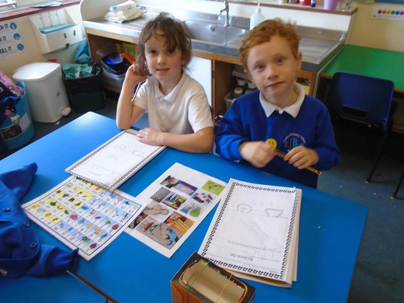 Planning and making our musical instruments.