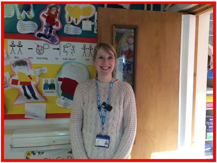 Mrs Vicky Sharpe - Speech & Language Therapist