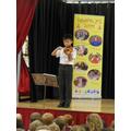 Year 5 - Jonathan Wong: Violin (Over the Rainbow)