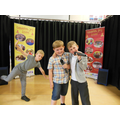 Year 1 - Luca, Kian K and Ashton - Singing