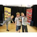Year 1 - Luca, Kian K and Ashton - Singing