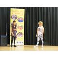 Year 3 - Olivia and Billie-Jo: Street Dancing