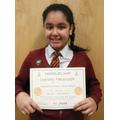 Ria Bajwa - Year 6