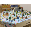 We love the train set!