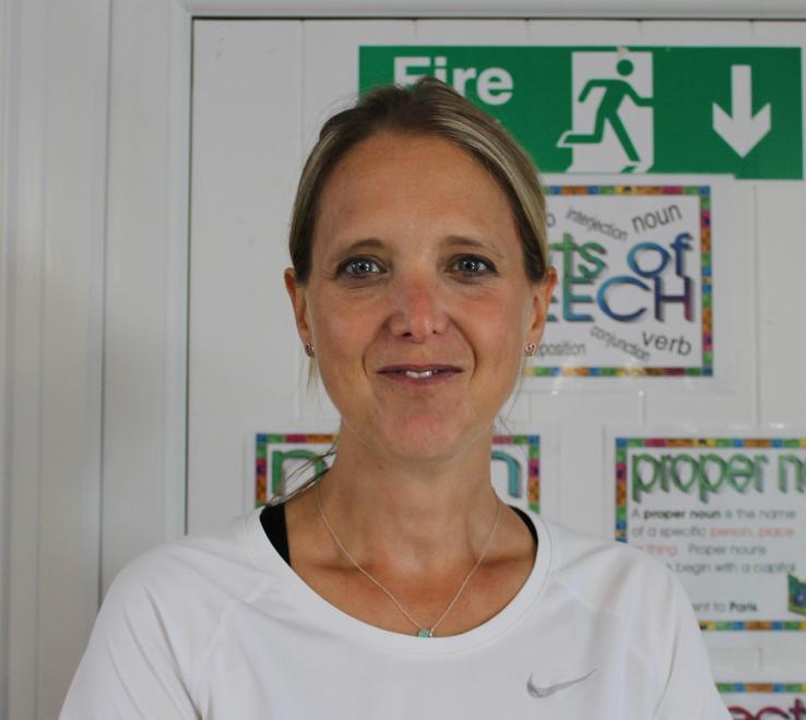 Mrs Harby is our IT and PE specialist teacher
