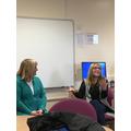Wendy (Buddhism) and Sharon (Mormon)