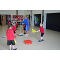 Swing ball with Mr Shaw