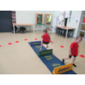 We have been practising our jumping