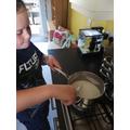 Mackenzie's cornflour dough