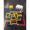 Martha's lego Parthenon and labyrinth
