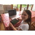 Martha enjoying this week's BNA webinar
