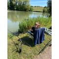 Sid's been fishing!