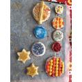Martha has been baking space cookies, yum!