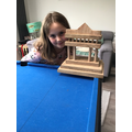 Maya's completed Parthenon!