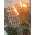 Fire boy Sid!