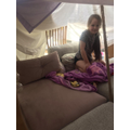 Brooke's pillow fort