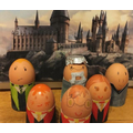 Martha's Harry Potter eggs