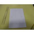 Measure and draw a 5cm border. Be accurate!
