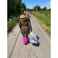 Brooke's been out litter picking