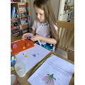 Science: dissecting flowers