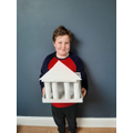 Toby's model of The Parthenon