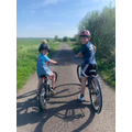 Max achieved an 8 mile bike ride for the 1st time!