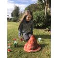 Brooke erupting Mount Kenya!