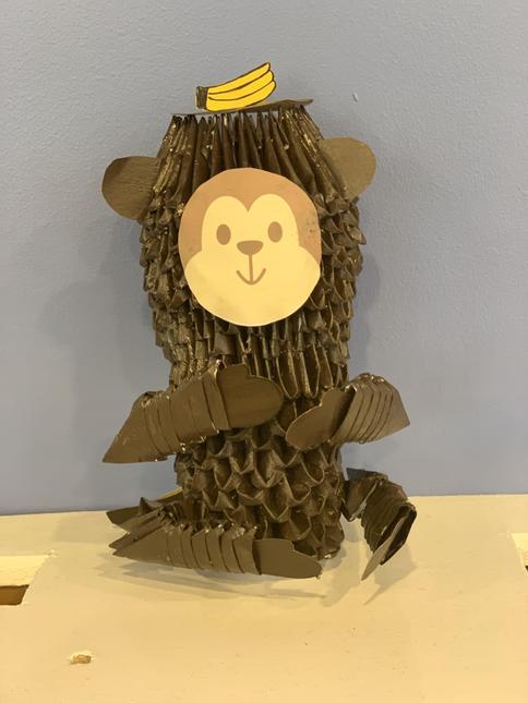 After school monkey - Arty