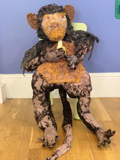 Preschool monkey - Micky