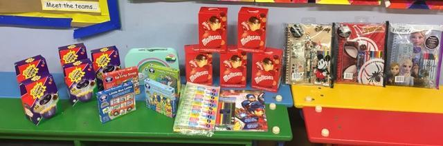 Classopoly Attendance Assembly Raffle Prizes