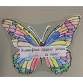 """""""Butterflies appear when Grandad is near"""""""