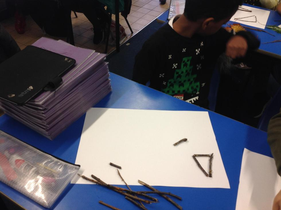 """""""Triangles have three sides."""" says Mujtaba."""