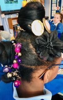 Francoise Crazy Hair Year 6