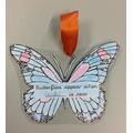 """""""Butterflies appear when Grandma is near"""""""