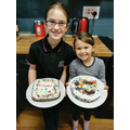 Eva and Thea's chocolate brownies!