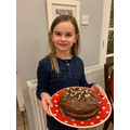 Lyra's chocolate cake!