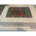 Amelia's chocolate cupcakes!