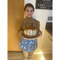 Izzy's four layer biscoff cake!