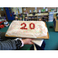 Our school is 20 years old this year!