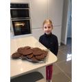 Poppy's chocolate chip cookies!