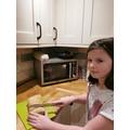 Charlotte made bread!