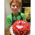 Valentine cake from Finley - absolutely stunning!