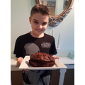 Owen's chocolate cake!