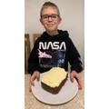 Oscar's carrot cake!