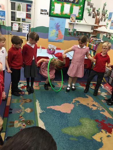 The hoop challenge!