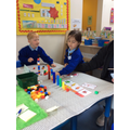 Ordering numbers and groups
