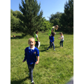 We carried out a litter pick in our nature classroom