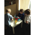 Exploring money in the role play shop
