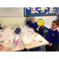 We thought carefully about how we would design the decoration for our biscuits.