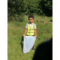 We learnt about the impact of litter on our environment